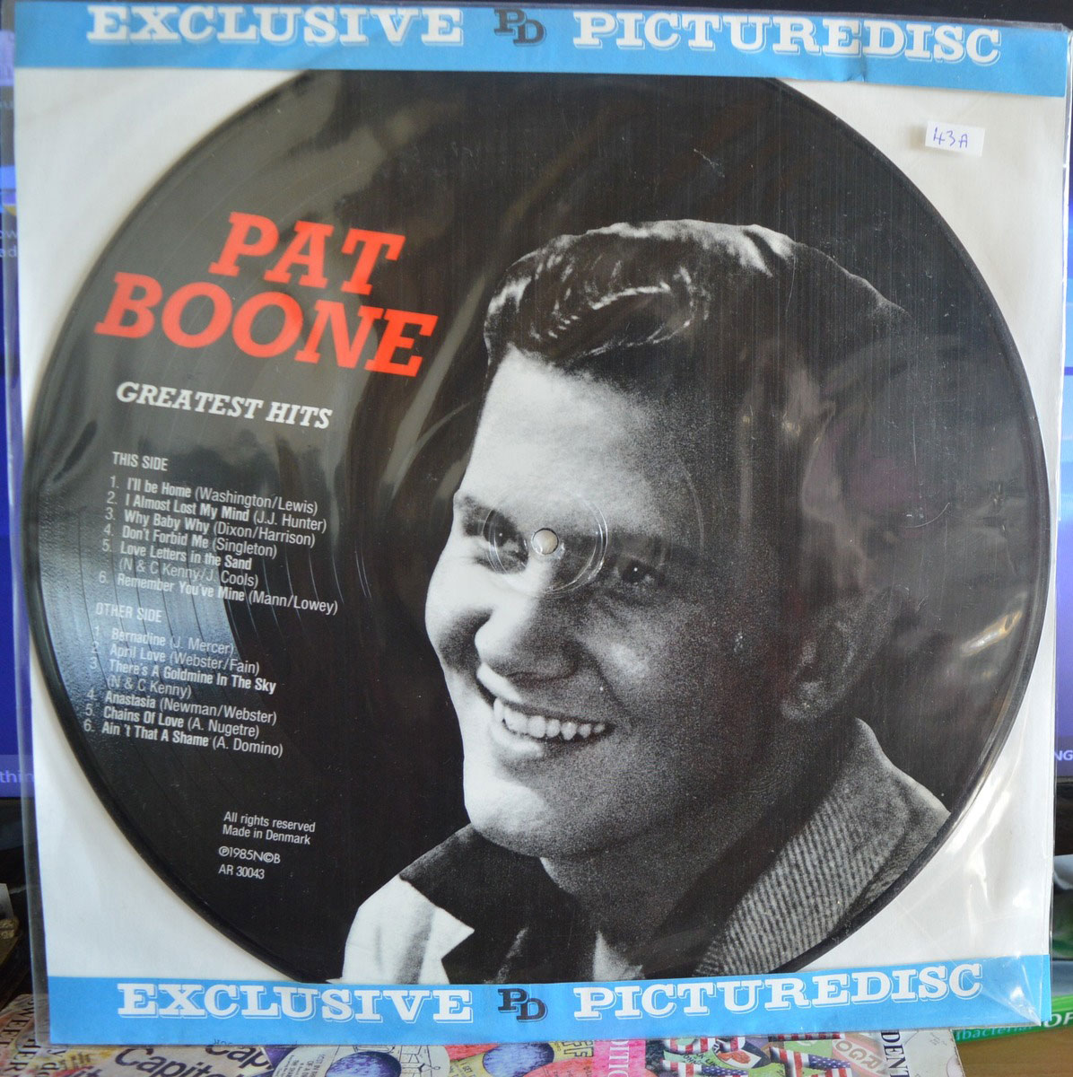 Pat Boone Greatest Hits Lp Buy From Vinylnet