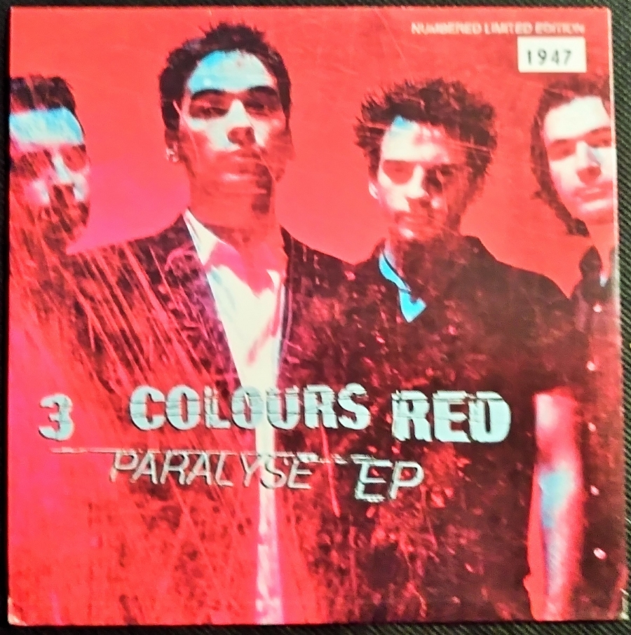3 Colours Red Paralyse EP 7 In...