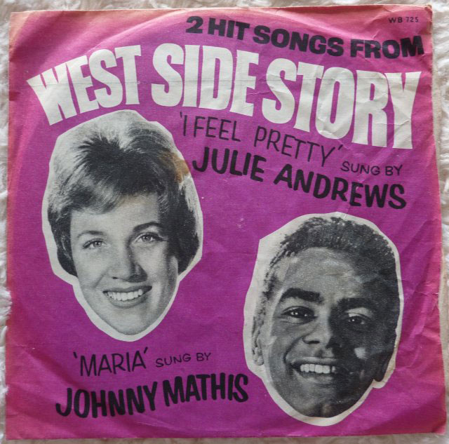 Julie Andrews Johnny Mathis 2 Hit Songs From West Side
