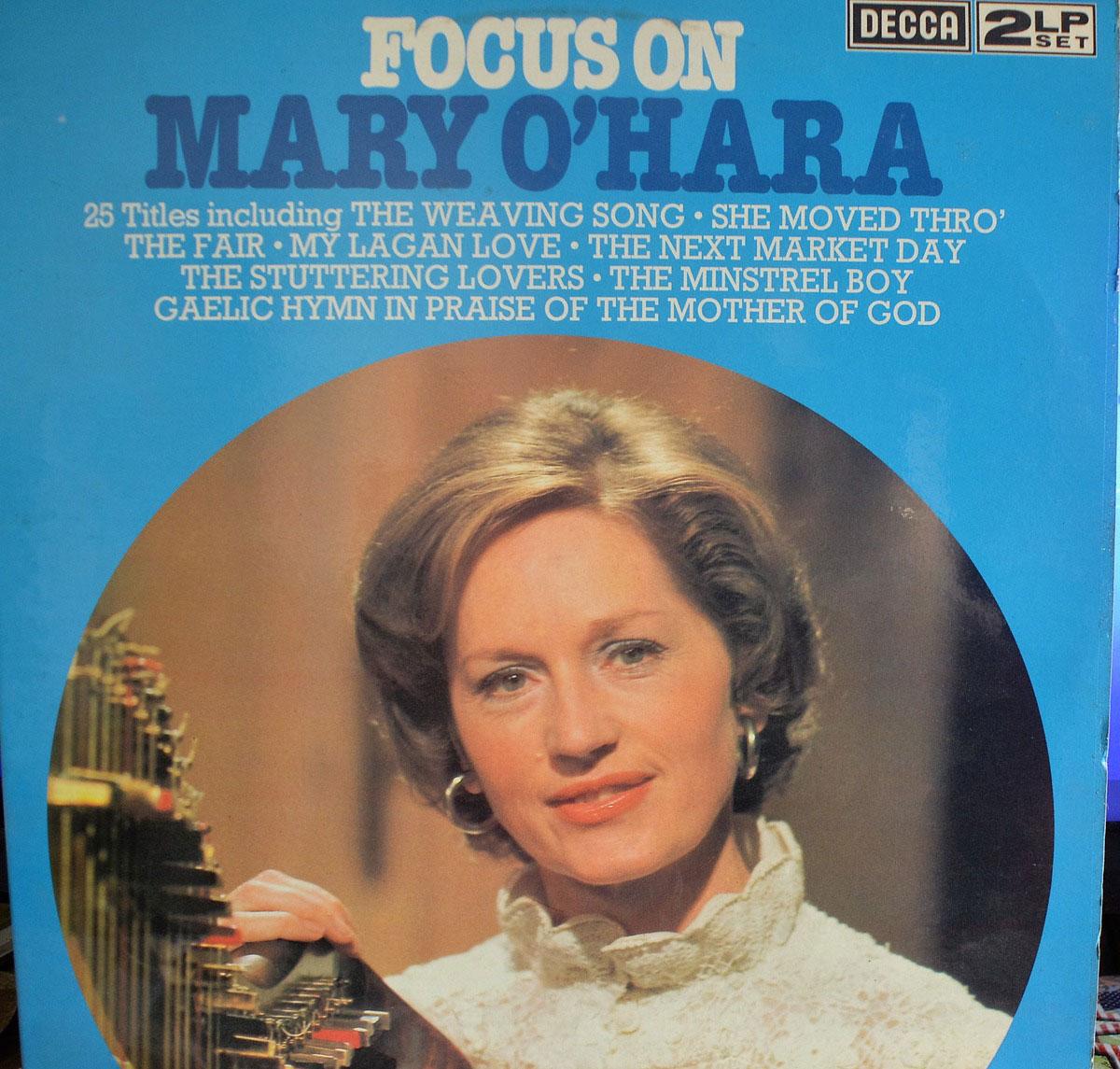 Mary O Hara Focus On Mary O Hara Lp Buy From Vinylnet