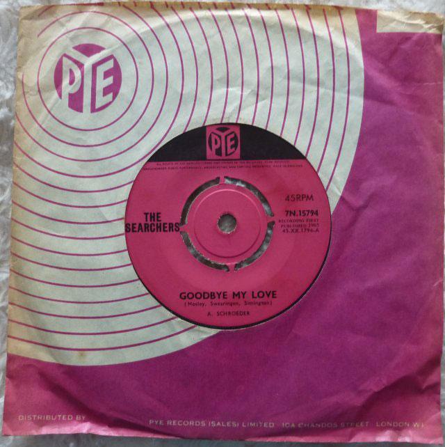 Searchers - Goodbye My Love Record