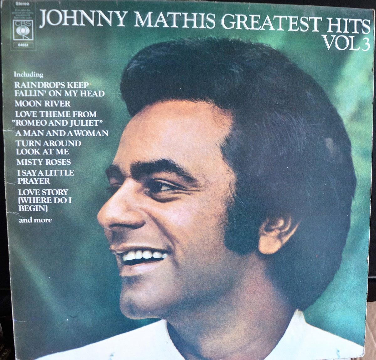 Johnny Mathis Greatest Hits Vol 3 Lp Buy From Vinylnet