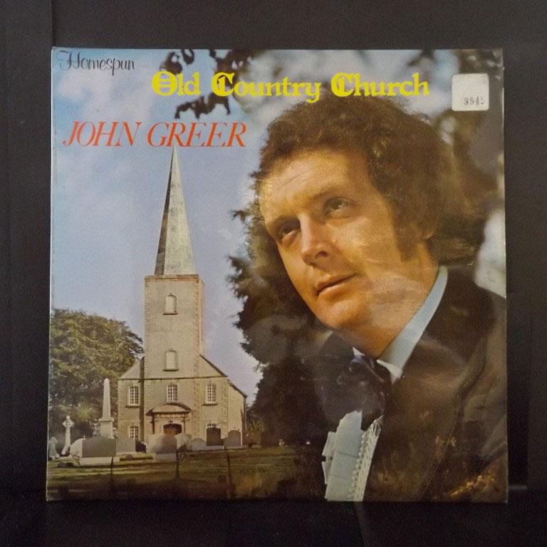 John Greer Old Country Church Lp Buy From Vinylnet