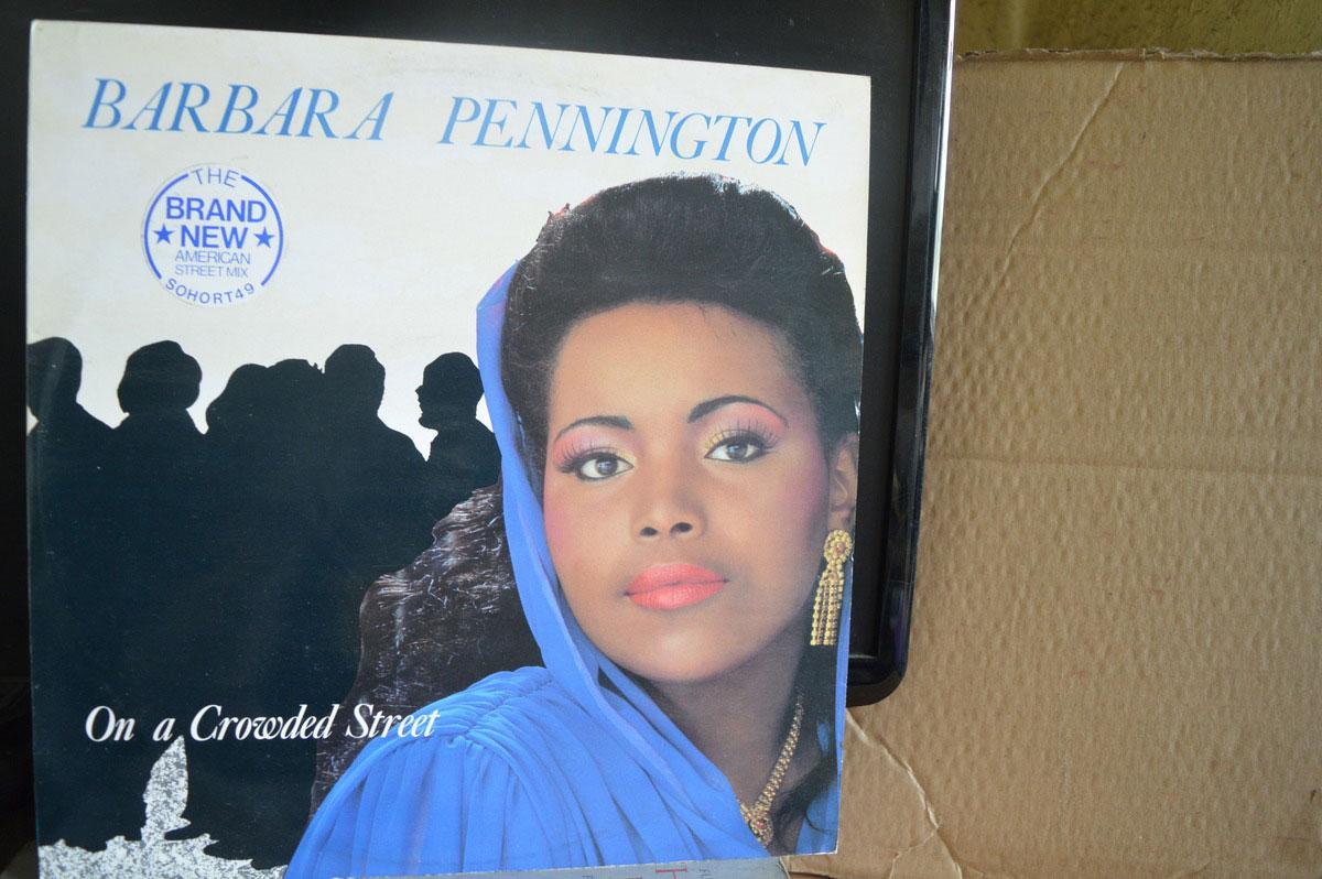 Barbara Pennington On A Crowded Street American Street