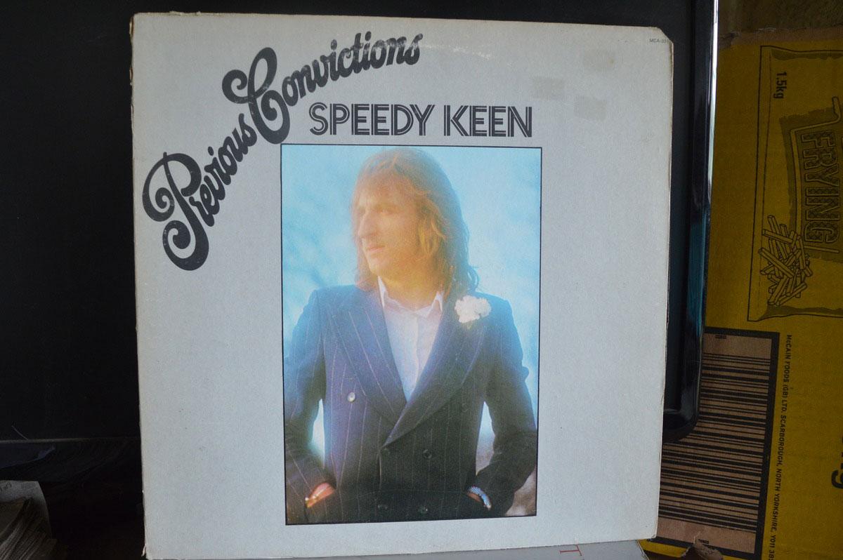Speedy Keen Previous Convictions Lp Buy From Vinylnet