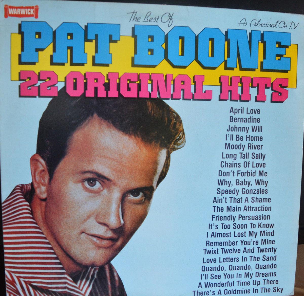 Pat Boone The Best Of Pat Boone Lp Buy From Vinylnet