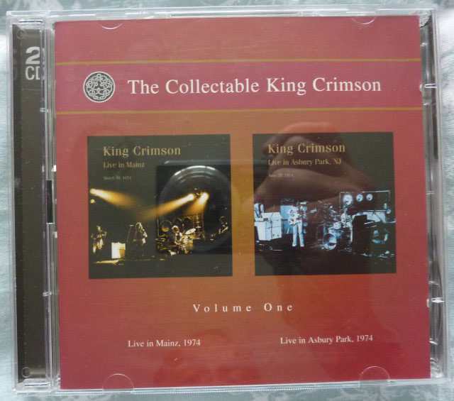 King Crimson The Collectable King Crimson Volume One Live