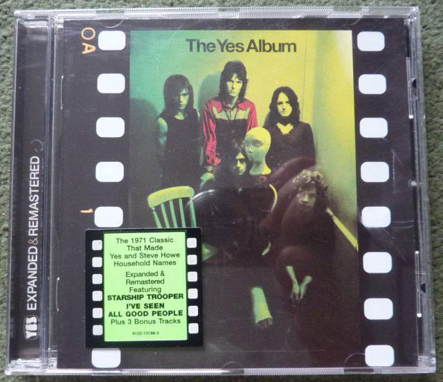 Yes The Yes Album Cd Buy From Vinylnet