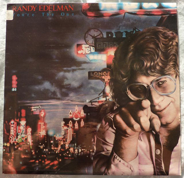 Randy Edelman You Re The One Lp Buy From Vinylnet